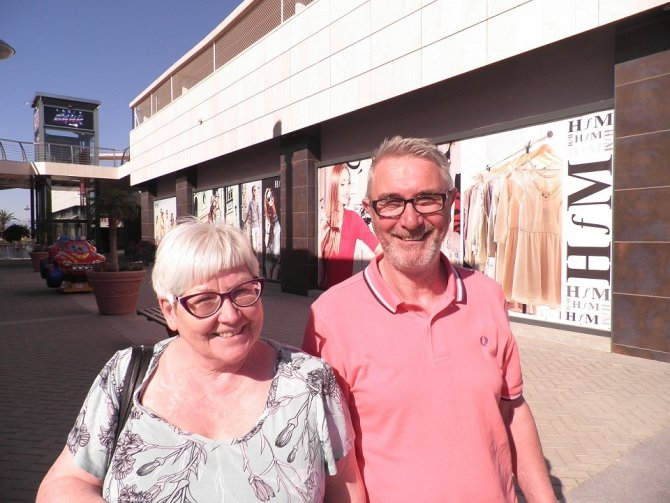 Jane & Keith Keys from Gran Alacant
